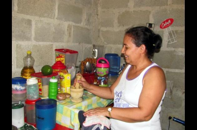 familias beneficiadas en Macayepos