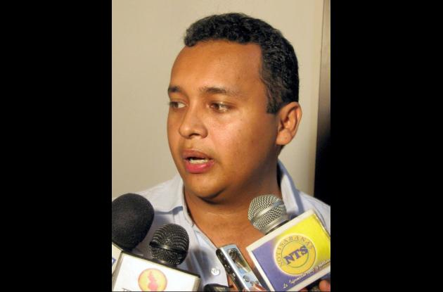 Benjamín Salcedo, alcalde de Morroa.