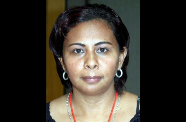 Karina Barreto, madre comunitaria.
