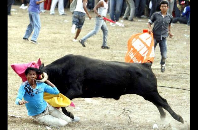 """Toros de Miedo"", fotografía ganadora de Manuel Santiago Pérez"
