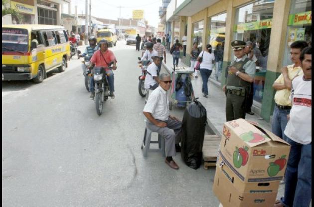 vendedores ambulantes se trasladarán