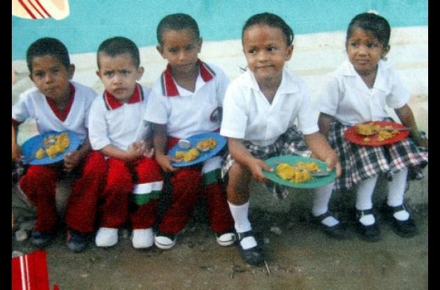 aulas educativas en la escuela Rita de Arrázola