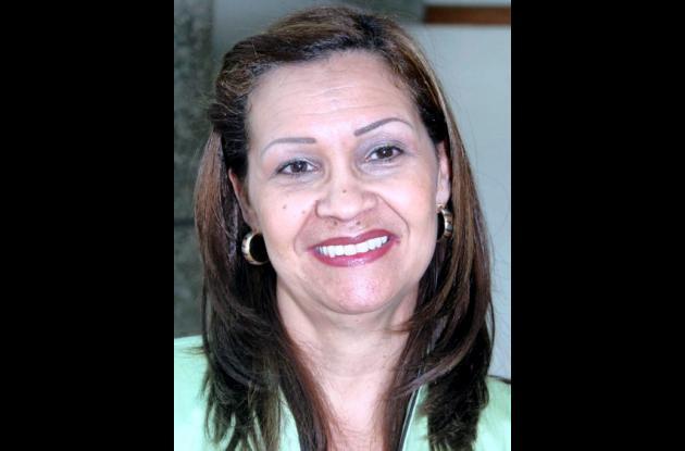 María Margarita Gulfo de Paternina, gestora Social de Sincelejo.