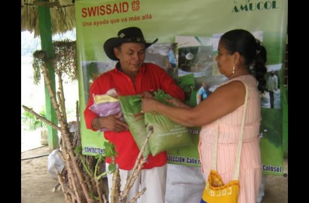 familias beneficiadas con el programa