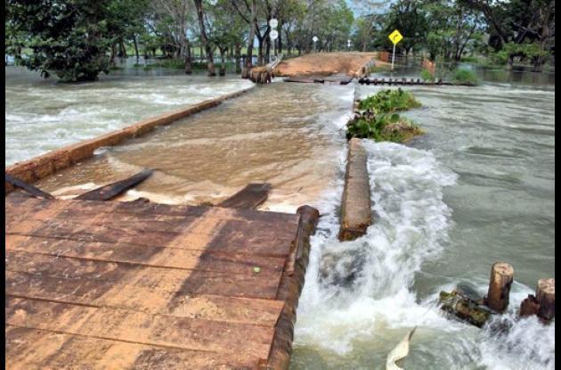 puente Guayepo sobre la vía San Marcos – Majagual