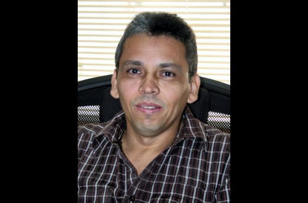 Oscar Ortíz Pianeta, director seccional de la DIAN.