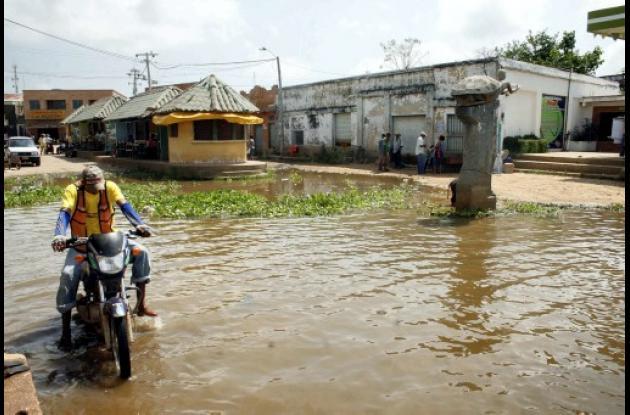 En el municipio de San Marcos  varios barrios ya están inundados