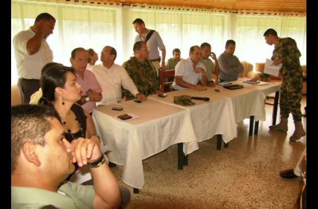 consejo de seguridad en la Primera Brigada de Infantería de Marina