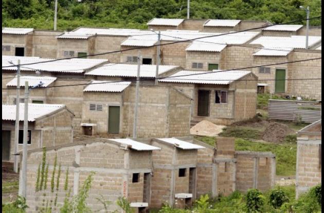 culminación de proyectos de vivienda.