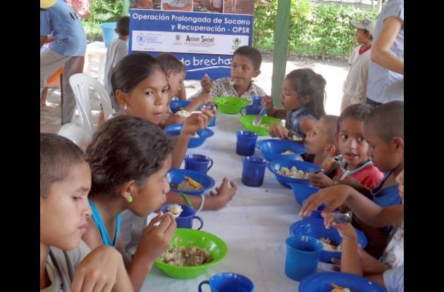 Comedores escolares y comunitarios