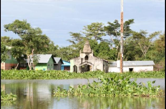 Los niveles de las aguas siguen bajando