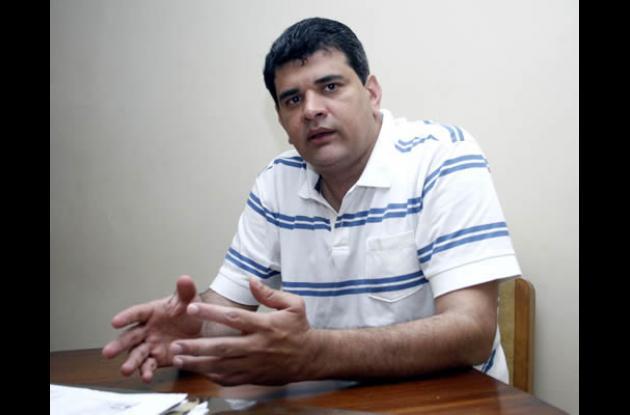 Gustavo Montes, candidato a la Gobernación de Sucre.