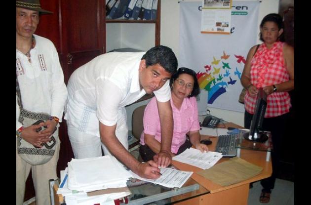 Gustavo Montes Fernández, candidato a la Gobernación de Sucre