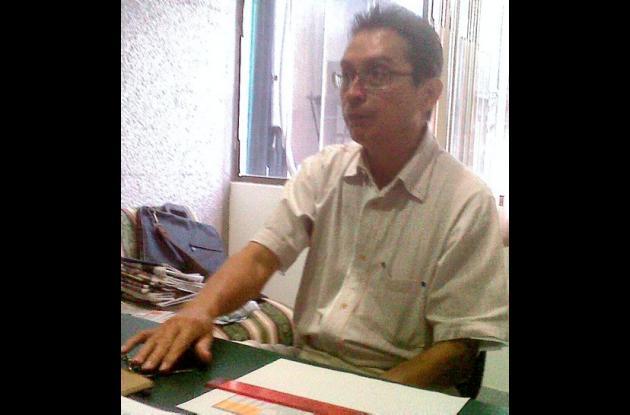 Aníbal Díaz Contreras, representante de Sayco en Sucre.