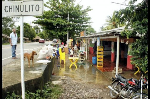 Más de 80 viviendas afectadas en Chinulito y 2 veredas por creciente de arroyo