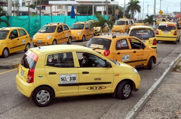 En Sincelejo, intensifica control sobre tarifas de taxis