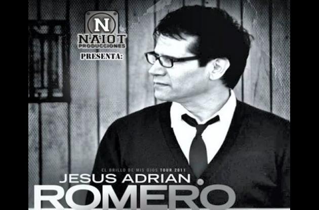 Jesús Adrián Romero, cantante cristiano.