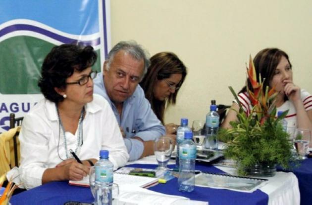 La ministra Beatriz Uribe Botero en Sincelejo
