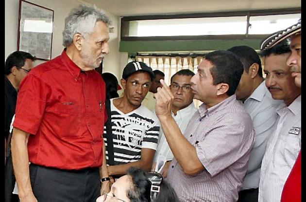 Julio Guerra Tulena, del partido Liberal, recorre las diferentes subregiones