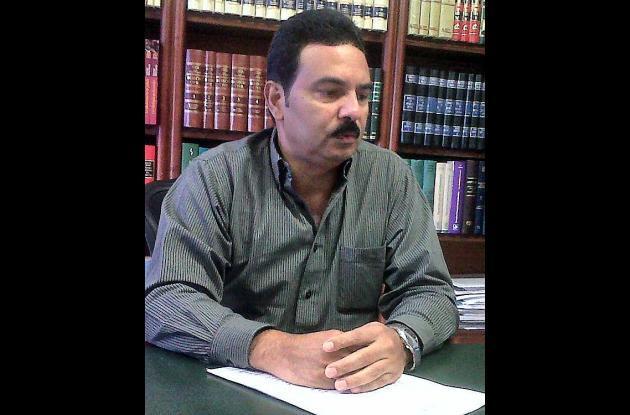 Elkin Monterroza Gómez, abogado.
