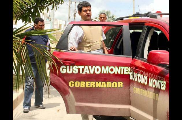El candidato a la Gobernación de Sucre, Gustavo Montes Fernández.