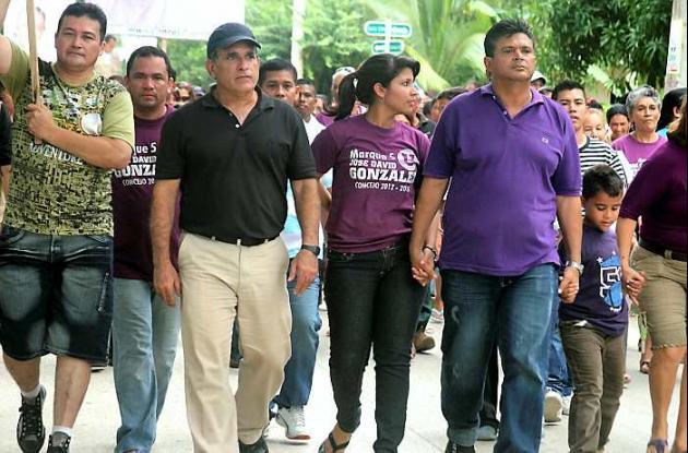 José David González, por la mayor votación para el Concejo