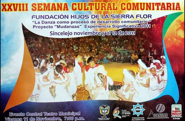Afiche promocional del evento.