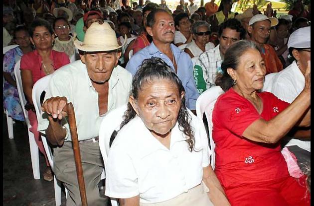 Los adultos mayores vinculados, reciben el subsidio de 80 mil pesos