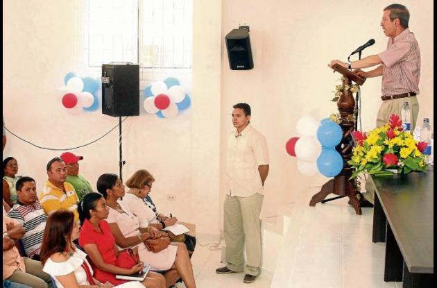 El Ministro de Justicia destacó la importancia del Centro de Convivencia