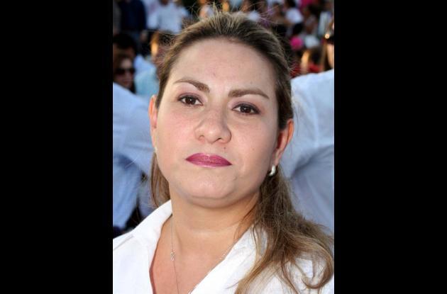 Jessica Lara, secretaria de Salud.