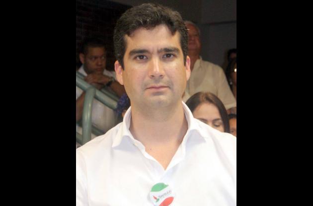 Hernando Chica, secretario de Hacienda.