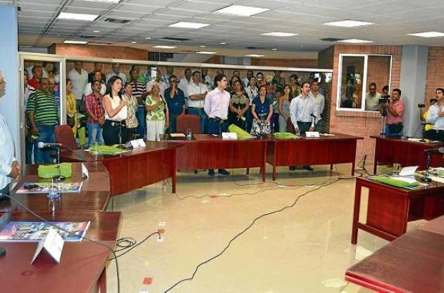 La Asamblea Departamental de Sucre inició su primer periodo de sesiones