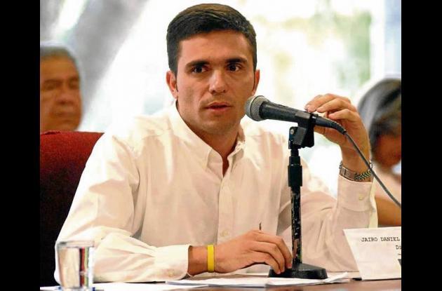 Jairo Barona, presidente de la Asamblea.