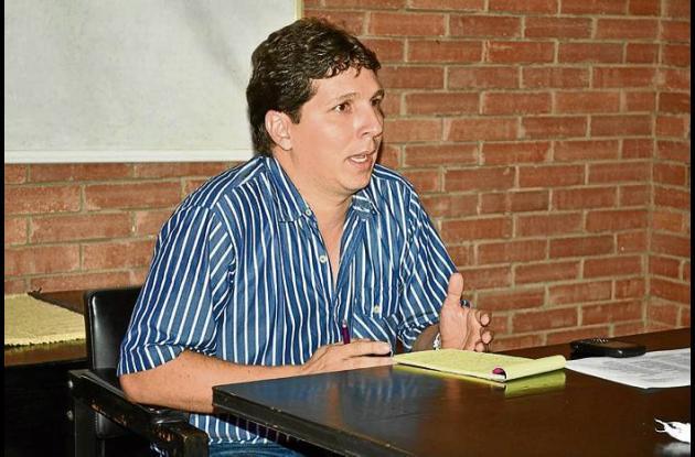 Giovanni Pizzirusso, secretario de Desarrollo Económico y Agropecuario.