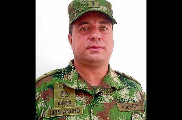 Comandante Distrito Militar 11, Mayor Carlos Cristancho Niño.