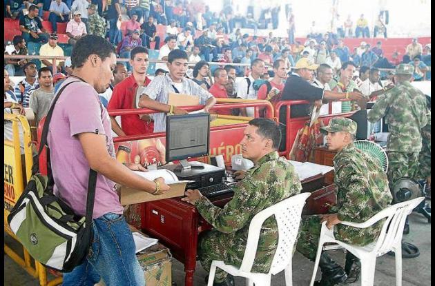 La nueva oportunidad a los bachilleres es para que definan su situación militar