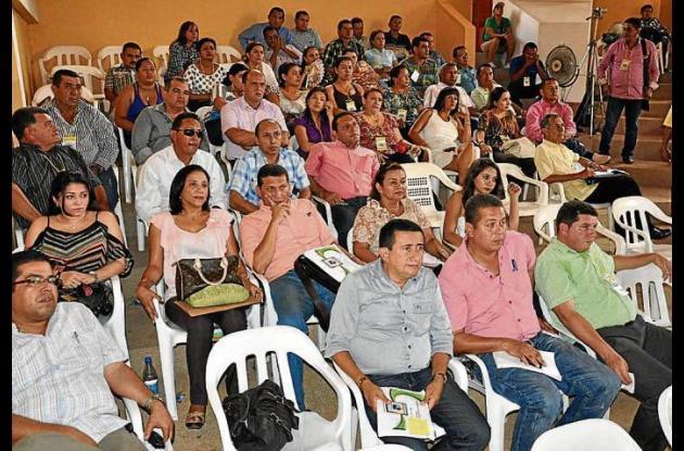 Los secretarios de salud municipales del departamento de Sucre