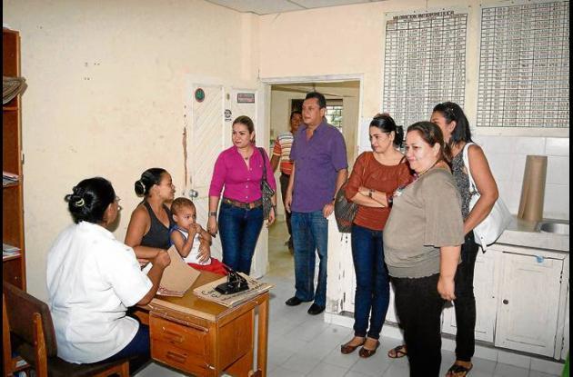 La Secretaria de Salud Municipal en el recorrido por las IPS corregimentales