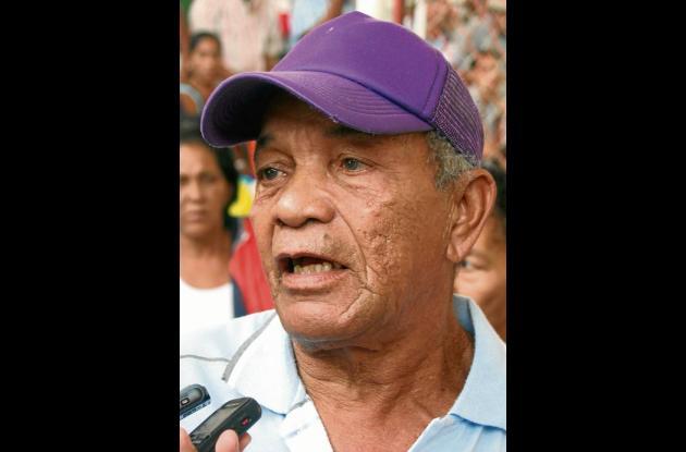 Juan Eugenio Herrara Hernández, beneficiario afectado.