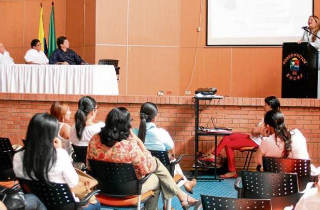 Reunión en la Secretaría de Desarrollo Agropecuario de Sucre
