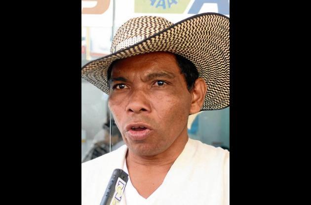Alfonso Santos Basilio, cacique del Resguardo Indígena Chinchelejo.