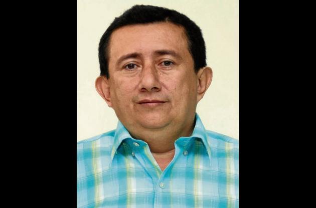 Regulo Puentes, alcalde de Betulia.