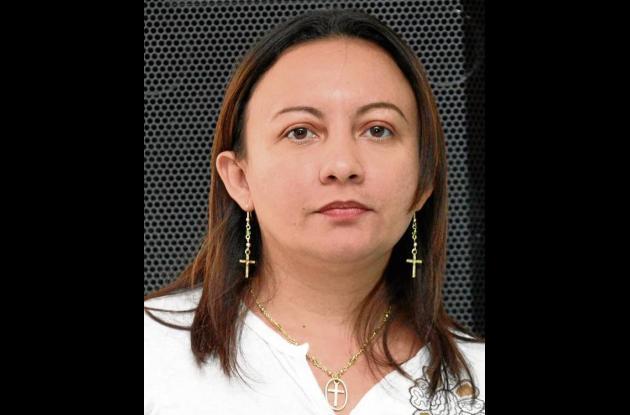 Verónica Vanegas, alcaldesa de Colosó.