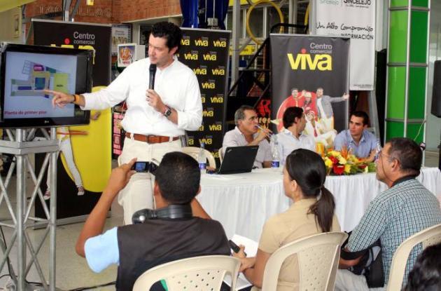 Éxito, presentó los alcances del proyecto Viva Sincelejo.