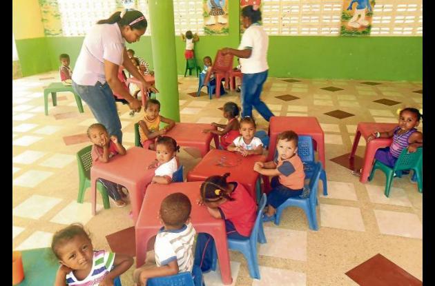 En San Onofre comenzaron a funcionar los hogares agrupados de bienestar.