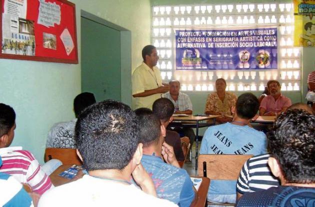 la Fundación presentó el proyecto que será ejecutado en la cárcel La Vega