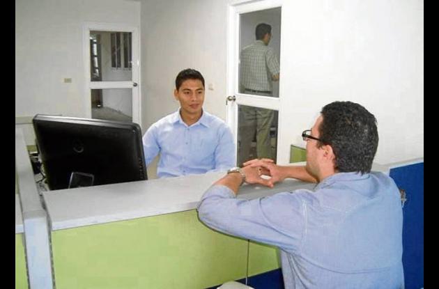 nueva oficina comercial  de Aguas de la Sabanaen la sede El Progreso.
