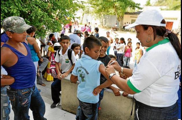 La vacunación en la población juvenil es positivo en Sucre.