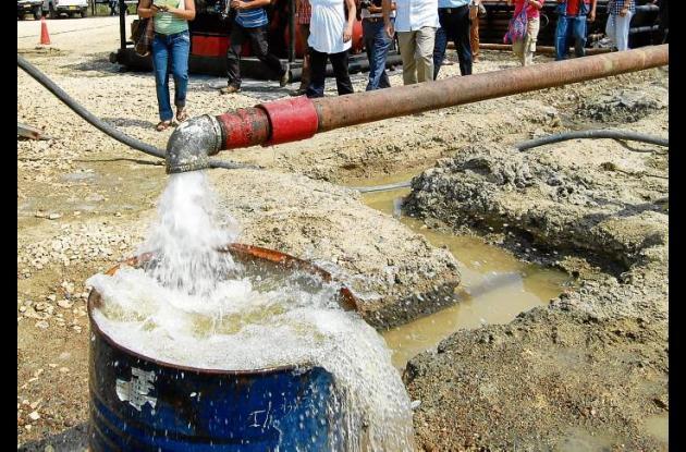 La calidad del agua en Sucre presenta cierto riesgo para la salud.
