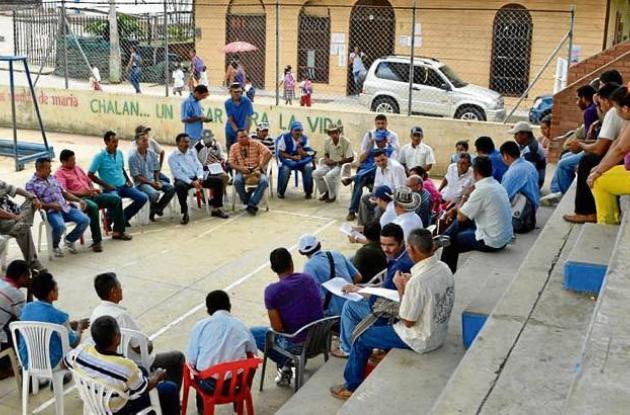 En el municipio de Chalán se cumplieron las mesas de trabajo